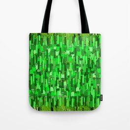 Fortified Border - Green Glow Tote Bag