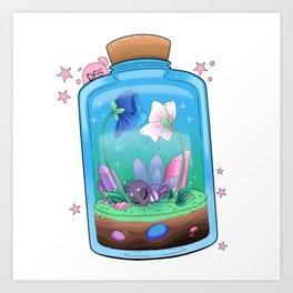 Spiderfly in a Jar Art Print