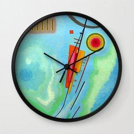 Wassily Kandinsky - Luminoso 1930  (luminous) Wall Clock
