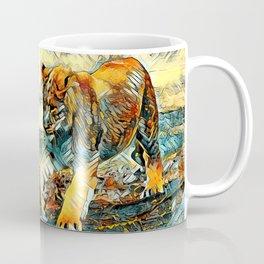 AnimalArt_Lion_20171017_by_JAMColors Coffee Mug