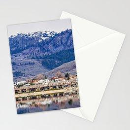 Osoyoos resort at wintertime - Okanagan, BC, Canada Stationery Cards
