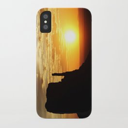 Sunrise over Monument Valley West Mitten Butte iPhone Case