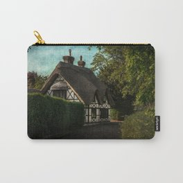 A Berkshire Half Timbered Cottage Carry-All Pouch