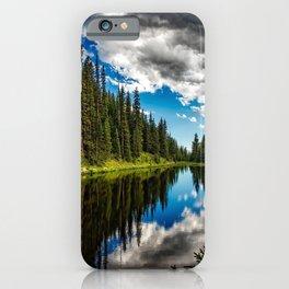 Big Sky, Lake Irene, Colorado iPhone Case
