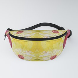 Blossoms Abstract Art Fanny Pack