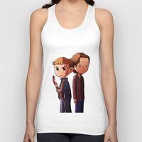 winchester Tank Tops featuring Winchester brothers by Kaori