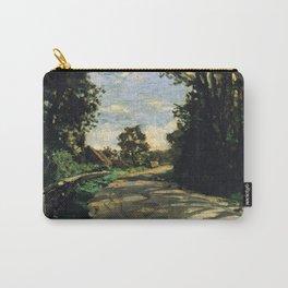 Walk Road of the Farm Saint-Simeon - Claude Monet Carry-All Pouch