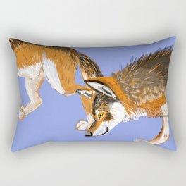 Totem Italian wolf (italicus) Rectangular Pillow
