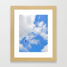Shoes in the Sky Framed Art Print