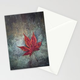Maple leaf Stationery Cards