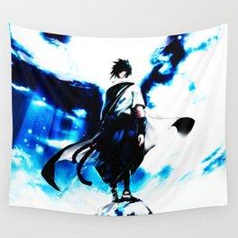uciha sasuke Wall Tapestry