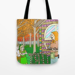 Hansel and Gretel (color) Tote Bag
