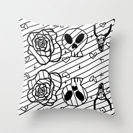 Dry Bones Come Alive #3 Throw Pillow