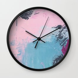 Pastel Dreams Wall Clock