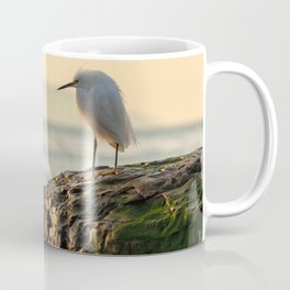 Young Egret Coffee Mug