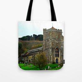 All Saints Church Tote Bag