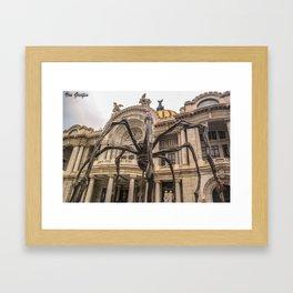 Palacio de bellas artes Framed Art Print
