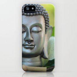 #Relax with #Buddha iPhone Case