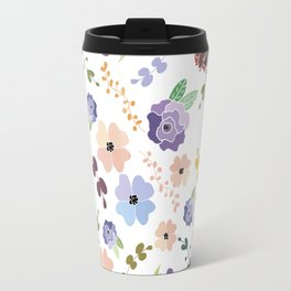 Floral Pattern II Travel Mug