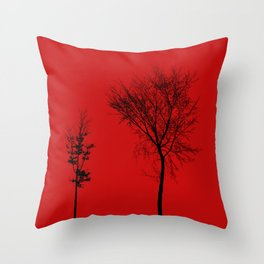 TOGETHER IN CAOS Throw Pillow