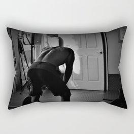 Exhausted Rectangular Pillow