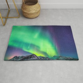 Northern Lights in Iceland Rug