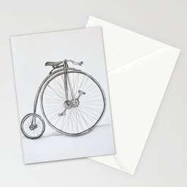 Vintage retro bicycle Stationery Cards