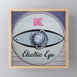 Electric Eye Framed Mini Art Print