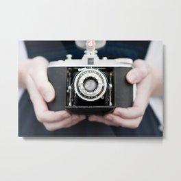 Vintage Camera Metal Print