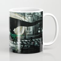 dinosaur Mugs featuring dinosaur by mass confusion