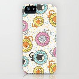 Donut Cat iPhone Case
