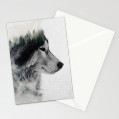 Wolf Stare Stationery Cards