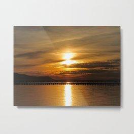 Golden Bay Metal Print