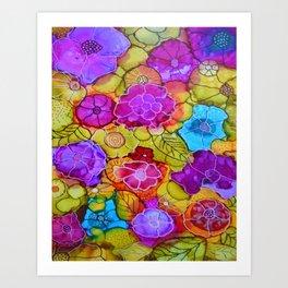 The Jessica - Flowers Art Print