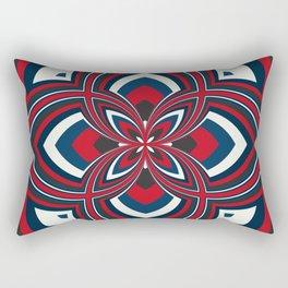 Spiral Rose Pattern B 1/4 Rectangular Pillow