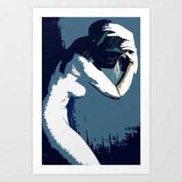 Pop Art Akt Art Print