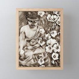 Buddha 3. Framed Mini Art Print