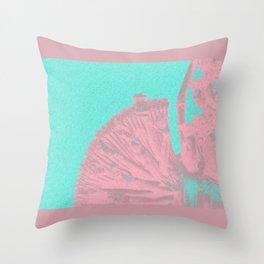 Quan Yin - Aqua 2 Throw Pillow