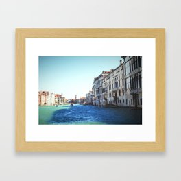 Canal of Venice Framed Art Print