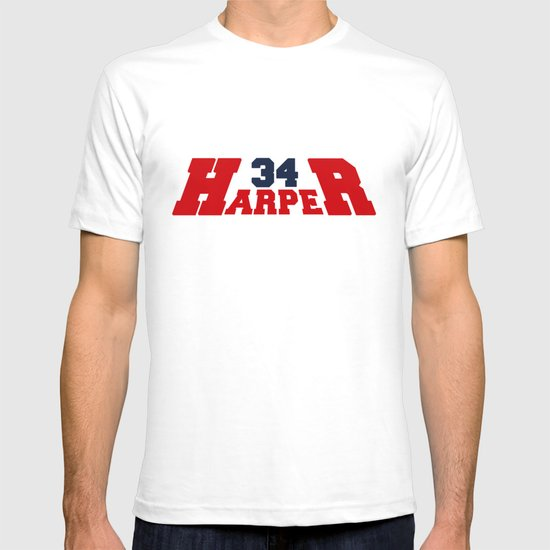 HR Harper Red and Blue T-shirt