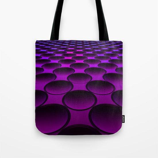 Purple Dimples Tote Bag
