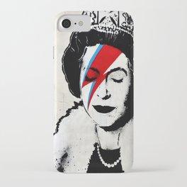 Banksy, Queen iPhone Case