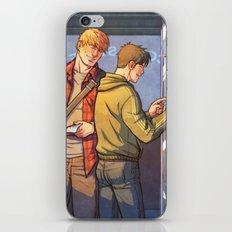 William and Theodore 23 iPhone & iPod Skin