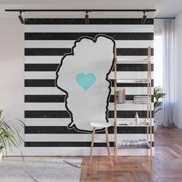 Love Floats Wall Mural