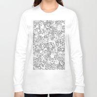 acid Long Sleeve T-shirts featuring Acid by Danielle Quackenbush