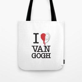 I love Van Gogh Tote Bag