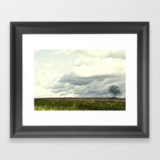 Stands Alone Framed Art Print