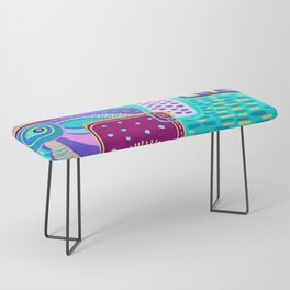 Pop Abstract Bench