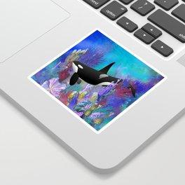 Under The Sea Orca Killer Whale Sticker