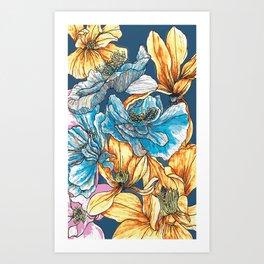 Bloom Oh Bloom Art Print